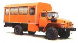Автобус Урал 32552. Техническая характеристика