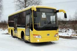 Автобус JAC HFC6830G. Техническая характеристика