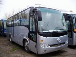 Автобус Higer KLQ 6885. Техническая характеристика