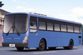Автобус Hyundai Super Aero City. Техническая характеристика