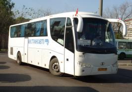 Автобус Mudan MD6122. Техническая характеристика