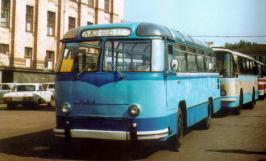 Автобус ЛАЗ 695. Техническая характеристика