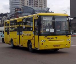 Автобус Богдан А-1445. Техническая характеристика