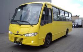 Автобус Hyundai Real. Техническая характеристика