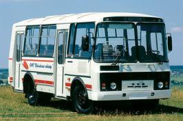 Автобус ПАЗ 32054. Техническая характеристика
