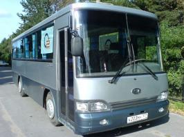 Автобус Kia Kosmos. Техническая характеристика