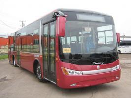 Автобус Zhong Tong Sunny. Техническая характеристика