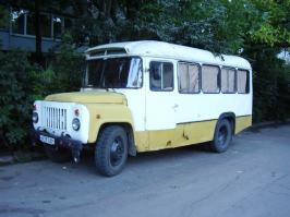 Автобус КАвЗ 685. Техническая характеристика
