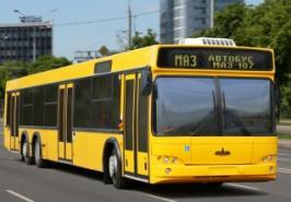 Автобус МАЗ 107. Техническая характеристика