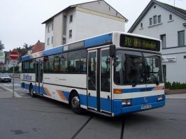 Автобус Mercedes-Benz O 405. Техническая характеристика