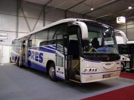 Автобус Scania Irizar Intercentury. Техническая характеристика