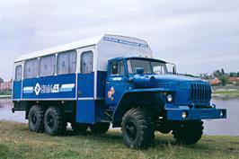 Автобус Урал 3255. Техническая характеристика