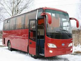 Автобус JAC HK6880K. Техническая характеристика