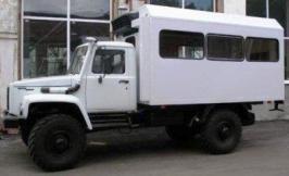 Автобус ГАЗ ВМ-32841. Техническая характеристика