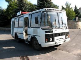 Автобус ПАЗ 32051. Техническая характеристика