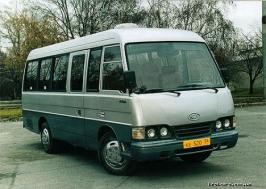 Автобус Kia Power Combi. Техническая характеристика