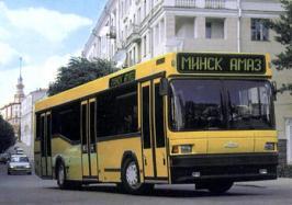Автобус МАЗ 104C. Техническая характеристика