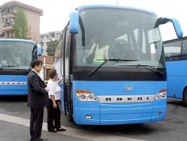 Автобус Ankai K46. Техническая характеристика