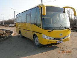 Автобус Yutong ZK6737D. Техническая характеристика