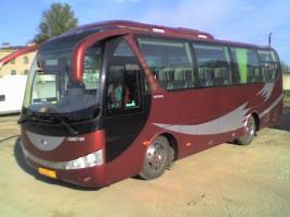 Автобус Yutong ZK6831HG. Техническая характеристика