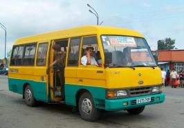 Автобус Asia Combi. Техническая характеристика