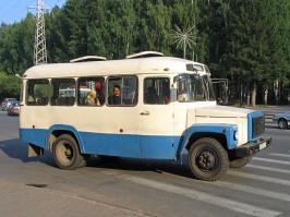 Автобус КАвЗ 397653. Техническая характеристика