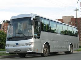Автобус JAC HK6120. Техническая характеристика