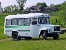 Автобус КАвЗ 32765. Техническая характеристика