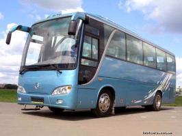 Автобус Golden Dragon XML6102UE. Техническая характеристика