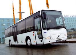 Автобус Volvo 8700 R. Техническая характеристика
