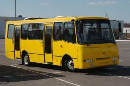 Автобус Богдан A-092. Техническая характеристика