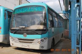 Автобус DongFeng 6720. Техническая характеристика