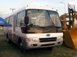 Автобус JAC HK6730K. Техническая характеристика