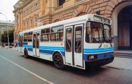 Автобус ЛАЗ 52528. Техническая характеристика