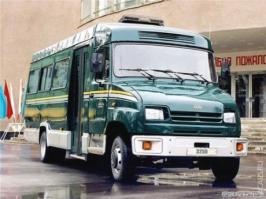 Автобус ЗИЛ 3250BO. Техническая характеристика