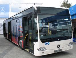 Автобус Mercedes-Benz O 345 Conecto. Техническая характеристика