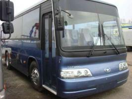 Автобус Daewoo BM090. Техническая характеристика