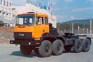 Автомобиль Урал 542362 Колесная формула 8x8 Техническая характеристика