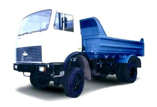 Автомобиль МАЗ 555402-220 Колесная формула 4х4 Техническая характеристика