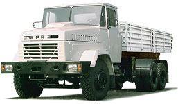 Автомобиль КрАЗ 65053 Колесная формула 6x4 Техническая характеристика
