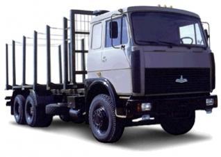 Автомобиль МАЗ 630305-229,-230 Колесная формула 6x4 Техническая характеристика