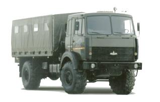 Автомобиль  531605-212 Колесная формула 4х4 Техническая характеристика