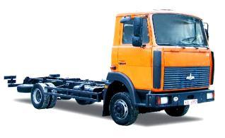 Автомобиль МАЗ 437041-240 Колесная формула 4x2 Техническая характеристика