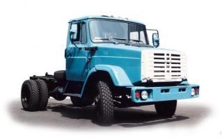 Автомобиль ЗиЛ 433182 Колесная формула 4x2 Техническая характеристика