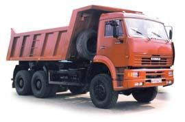 Автомобиль КАМАЗ 6522 Колесная формула 6x6 Техническая характеристика