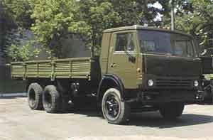 Автомобиль КАМАЗ 53212 Колесная формула 6x4 Техническая характеристика