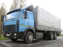 Автомобиль МАЗ 63031 Колесная формула 6x4 Техническая характеристика