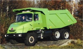 Автомобиль ТАТРА JAMAL Колесная формула 6x6 Техническая характеристика