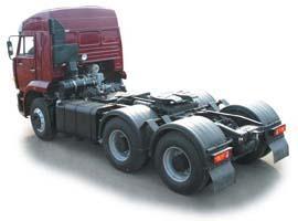 Автомобиль КАМАЗ 6460 Колесная формула 6x4 Техническая характеристика