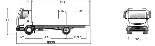 Renault midlum каталог запчастей